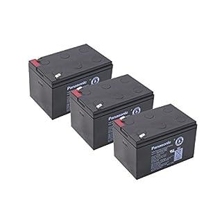 Kompatibler Accu Roller E Scooter SXT 1000 Turbo 36V 3x 12V 15Ah AGM Blei Akku