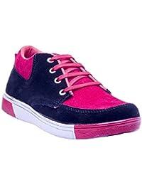 Savie Shoes Men's Black & Red Casual Sport Shoes