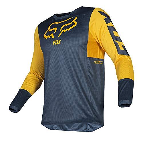 Fox Jersey 180 Przm Navy/Yellow Xxl