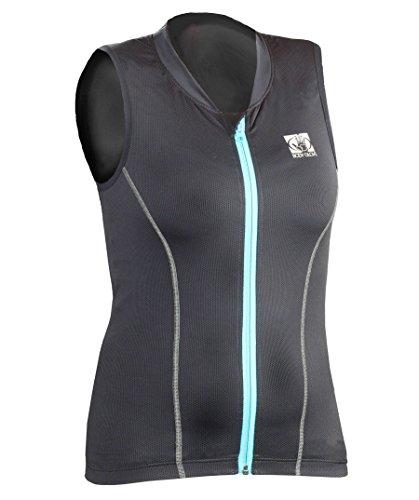Body Glove Damen Bg Lite Pro Protector Vest-Women Protektor, Black/Light Adriatic, S