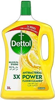 منظف ديتول القوي للأرضيات ليمون، 3 لتر
