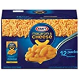 SCS Kraft Macaroni & Cheese Dinner - 7.25 Oz. - 12 Pk. by Kraft