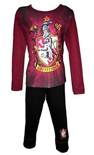 Character Clothing Girls Harry Potter Hogwarts Gryffindor Slytherin Magic Pyjamas PJS Age 5-12