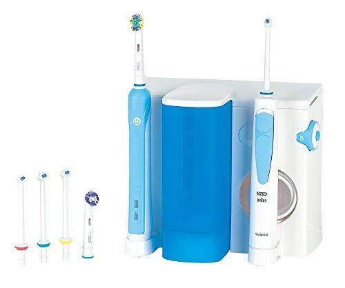 Oral-B Professional Care Center 500 elektrische Zahnbürste & Munddusche in einem, mit Kulturtasche