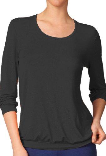 Calida - T-shirt de sport - Col ras du cou - Manches longues Femme - 384 scandinavian