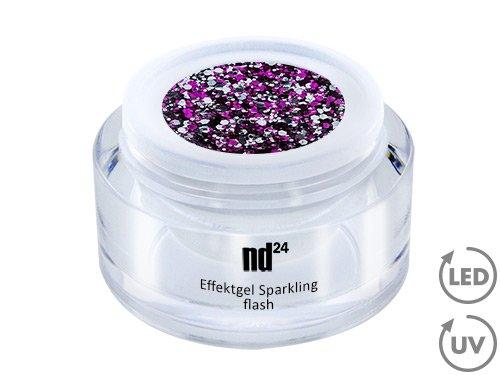 Nail Art - Sparkling éclair Effektgel