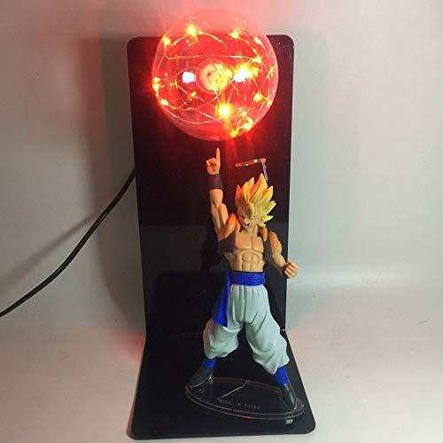 Lámpara Dragon Ball Z Goku Bombas fuerza Lámpara