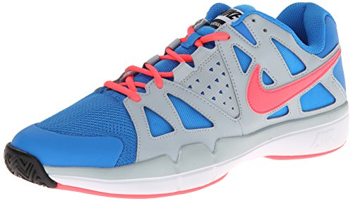 Nike - Scarpe sportive - Tennis Air Vapor Advantage, Uomo Multicolore (Mehrfarbig (Photo Blue/Hyper Punch/Light Magnet Grey/White/Space Blue/Light Magnet Grey/Black))