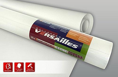 Malervlies Renoviervlies XXL Rolle Profhome Anstrich Vlies glatt überstreichbar 60 g 26,50 m2