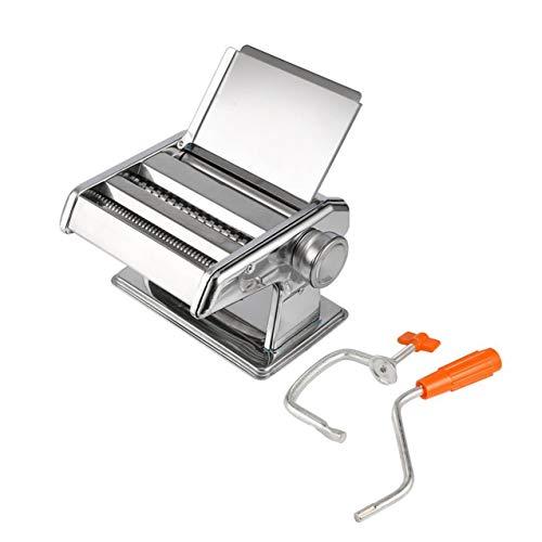 Máquina manual prensa tallarines acero inoxidable