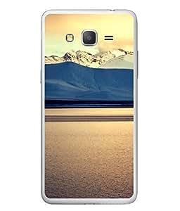 Fuson Designer Back Case Cover for Samsung Galaxy J5 2015 :: Samsung Galaxy J5 2015 J510F (Mountain Hill Sea Beach Light morning walk)