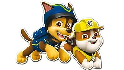 Patrulla Canina 0886, Pack 4 Siluetas 30 cms, Paw Patrol, para Decoracion de Fiestas y cumpleaños por ALMACENESADAN