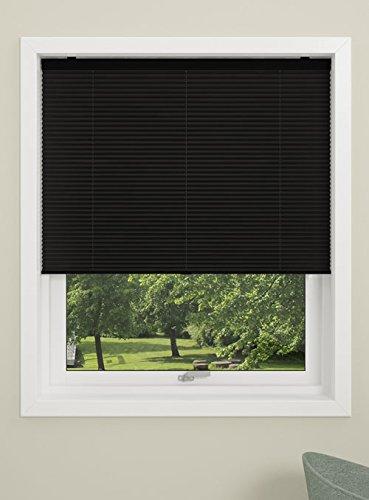Store plissé Debel « Touch » - 100 % Polyester - 100 x 160 cm - Noir, Noir, 130 x 160 cm