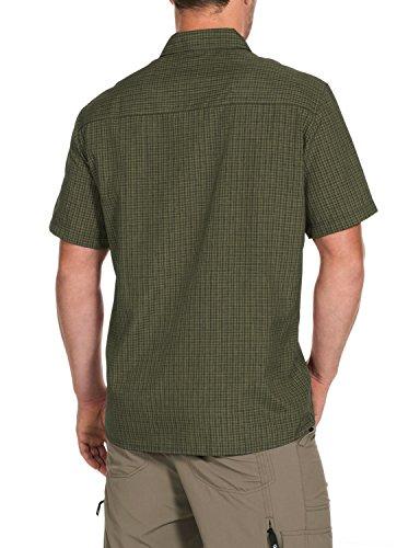 Jack wolfskin eL dorado chemise pour homme Vert - Spruce Checks