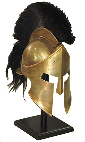 Film-Replik 300, Römischer/spartanischer Helm König Leonidas, Rollenspiel, griechischer Helm -