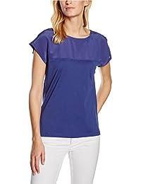 Stefanel T-Shirt Jersey Dettagli Seta, Maglietta Donna