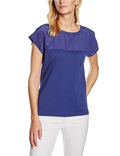 Stefanel Damen Schlafanzugoberteile T-Shirt Jersey Dettagli Seta Mehrfarbig