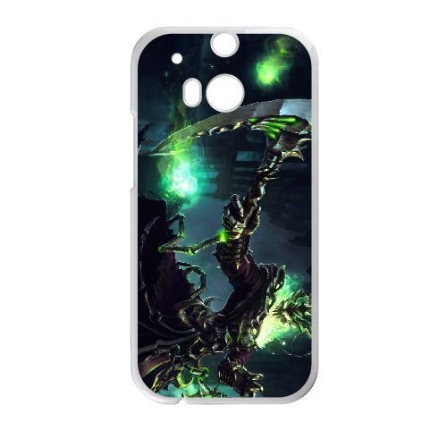 HTC One M8 Case , Cell phone case White Thresh LOL league of legends for HTC One M8