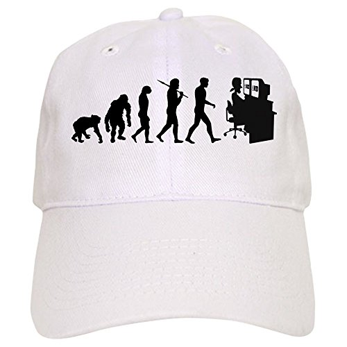 CafePress Film Editor Evolution - Baseball Cap With Adjustable Closure, Unique Printed Baseball Hat