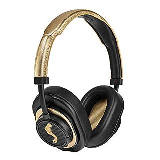 Master & Dynamic MW50+ Bluetooth 2-in-1 Wireless Headphones with 40 mm Beryllium Driver for High Sound, Converts from On-Ear Headphones to Over-Ear Headphones, Michael Jackson Edition Black/Gold (B07GZRWVT2) | Amazon price tracker / tracking, Amazon price history charts, Amazon price watches, Amazon price drop alerts