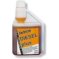 Diesel plus 500 ml von Yachticon: Zusatz für Dieselöl - incl Pflegetuch (gratis).. Diesel Plus wirkt aktiv gegen Bakterien-Schlammbildung und sorgt durch Erhöhung der Cetan-Zahl für einen ca. 4% geringeren Verbrauch.