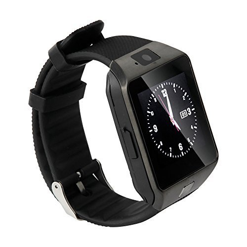 A2Z Shop Bluetooth Smart Watch Phone With Camera and Sim Card Slot M9 SmartWatch For Acer Liquid E700 / Acer Liquid E 700 Smart Watch Original M9 Nine DZ-09 Bluetooth Smart Wrist Watch | Best U8 Bluetooth Authentic U Watch | Whatsapp | Internet | Facebook | Activity Tracker | Fitness Band | Music | Micro SD Memory Chip Card | Outdoor, Health, Digital Touch Screen, Lightweight, Wifi, Internet, 4G, Fashion New Arrival Hot Fashion Premium Quality Lowest Price Sports (Black)  available at amazon for Rs.1399