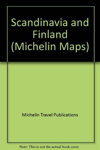 Scandinavie, Finlande: Carte routiere et touristique