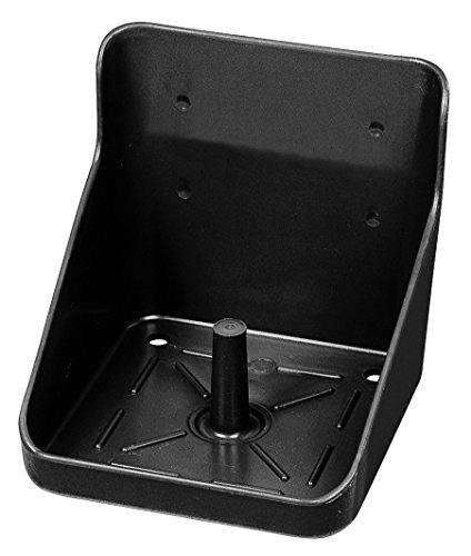 Lecksteinhalter schwarz Kunststoff, eckig K3247-5 top Qualität