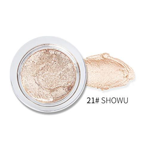 Fards à paupières,OVERMAL Ombre à Paupières Crème Maquillage Shimmer Poudre à Haute Brillance Eyeshadow Professionnel Maquillage Yeux de Cosmétique