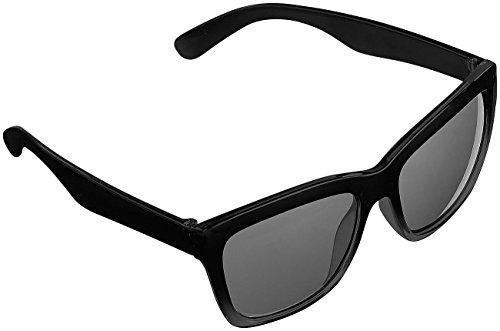 PEARL Sonnenbrille Herren: Sonnenbrille im Retro-Look (Nerd Sonnenbrille) (Einfach Hollywood Star Kostüm)