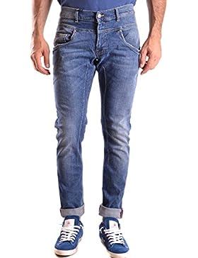 Daniele Alessandrini Hombre MCBI086429O Azul Algodon Jeans