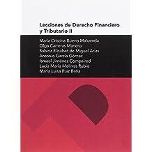 Lecciones de Derecho Financiero y Tributario II (Textos Docentes)