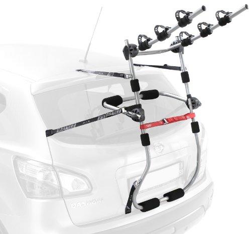 Mottez 3 Bike Premium - Transportador de bicicleta de ciclismo, tamaño 3 Bicicletas, color 0