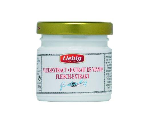 Liebig Rindfleisch – Extrakt, zur Verfeinerung von Suppen und Saucen, 40 g, 3er Pack (3 x 40 g)