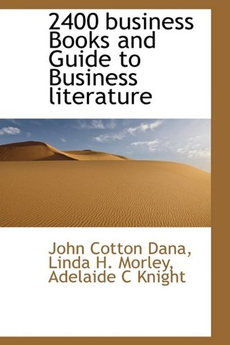 2400 business Books and Guide to Business literature