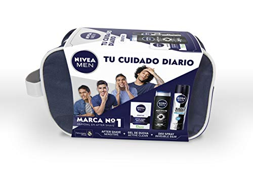 NIVEA MEN Sensitive, neceser set baño, caja regalo