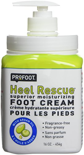 - Profoot Heel Rescue Superior Moisturizing Foot Cream -16 Oz by PROFESSIONAL PRODUCT RESEARCH.