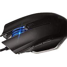 ERKEJI Ratón Mecánica Concurso Juegos con Cable ratón eléctrico portátil ergonómico