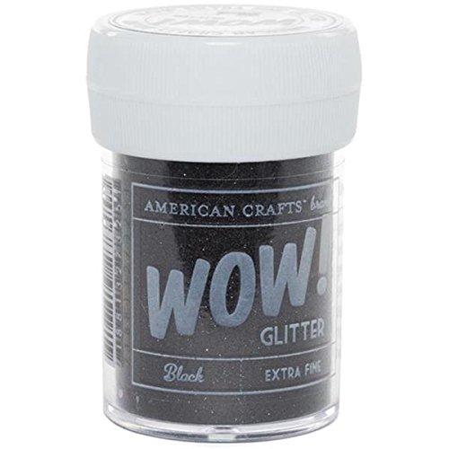 American Crafts Noir – Paillettes Extra Fine, acrylique, multicolore