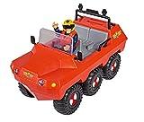 Simba 109251051 Feuerwehrmann Sam Hydrus Fahrzeug mit Einer Figur, One Size