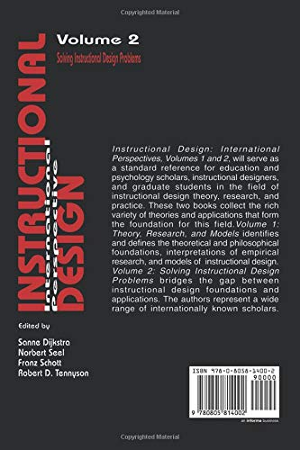 Instructional Design: International Perspectives II: Volume I: Theory, Research, and Models:volume Ii: Solving Instructional Design Problems: Solving Instruction Design Problems v. 2