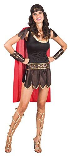 Imagen de disfraz gladiadora romana mujer  única alternativa