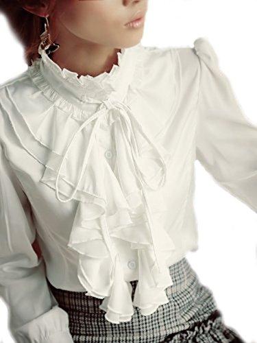 yesfashion-brand-noble-luxury-victorian-tops-women-shirt-ruffle-flounce-ladies-blouse-l-white