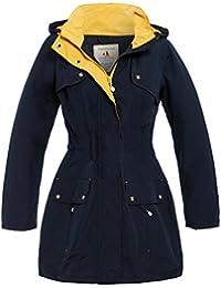 SS7 Womens Waterproof Raincoat Ladies Rain Mac Coat Size 10 12 14 16 18 Pink