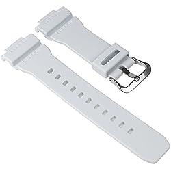 Casio Ersatzband Uhrenarmband Resin Band Weiß für G-7900A G-7900RF G-7900 10332100