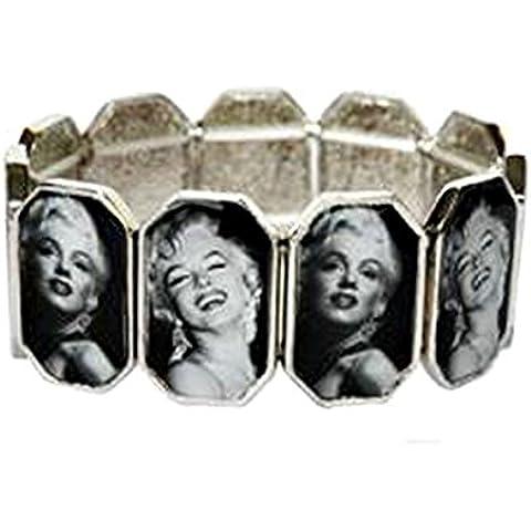 Pulsera Marilyn Monroe Original–Bijou Fantasía de metal para mujer