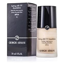 Giorgio Armani Lasting Silk UV Foundation SPF 20 -  4.5 Sand 30ml/1oz