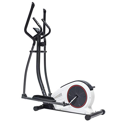 TechFit E450 Cross Trainer, Elliptical Bike for Home, Weight Loss Machine for Cardio and Fitness Exercises, Magnetic Resistance Device Fit for Indoor Spaces