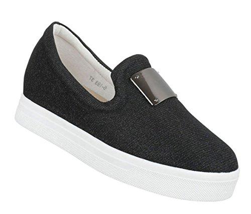 Das top Baixo Sapatos Casuais 40 36 Slipper Mulheres 37 Calçados Prata 41 De 39 Corredor 38 Esportivos wwEqH