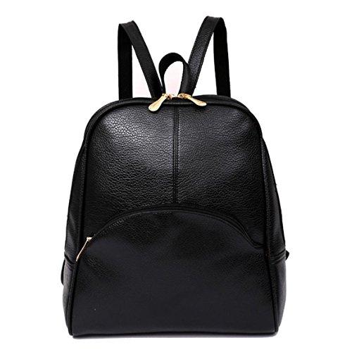 Moonuy Mädchen Rucksack Frauen Softback Taschen Tasche Soft Griff Preppy Style Tasche Arcuate Schultergurt Casual Jugendliche Rucksack